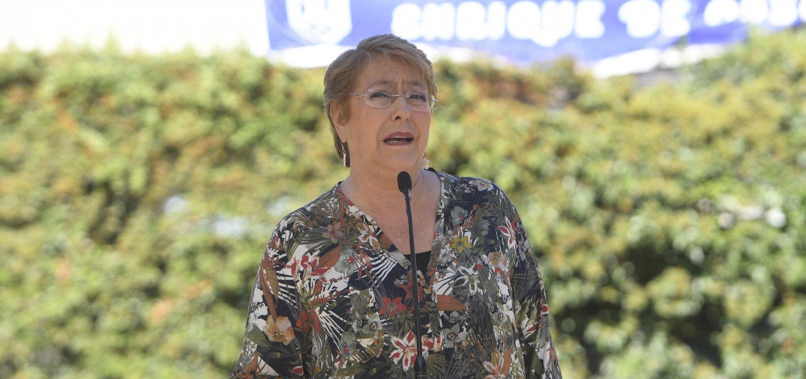 Michelle Bachelet condena uso excessivo da força policial na Bolívia