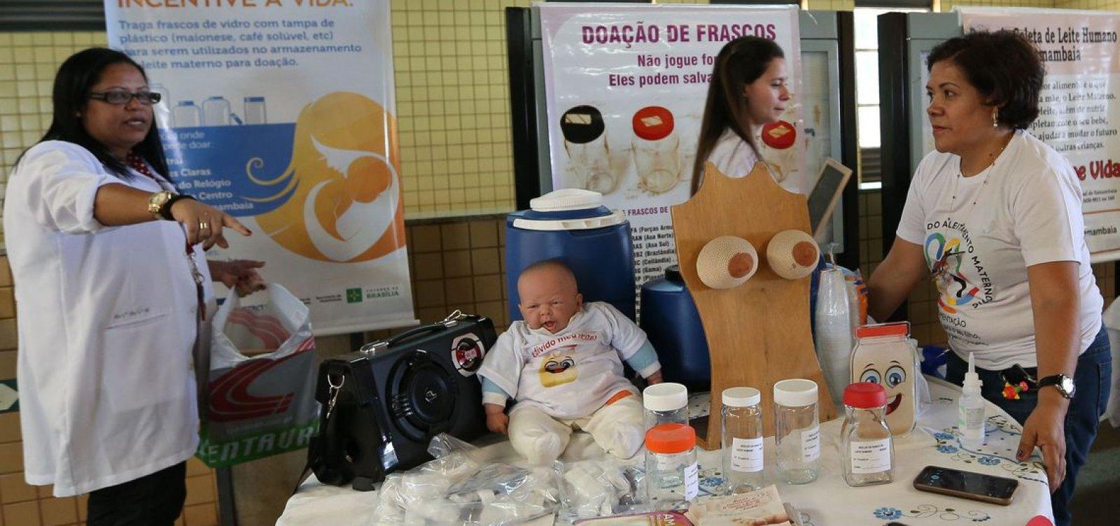 Brasil exporta experiência com bancos de leite para países lusófonos