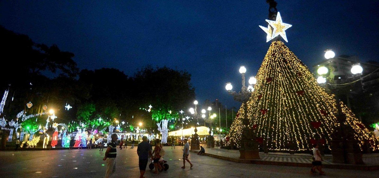 Iluminação natalina no Campo Grande terá perímetro de segurança no trânsito a partir de amanhã