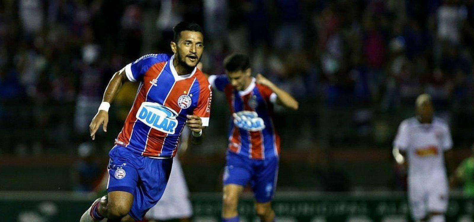 Cotado para titular contra o Palmeiras, Rogério é vetado pelo departamento médico do Bahia