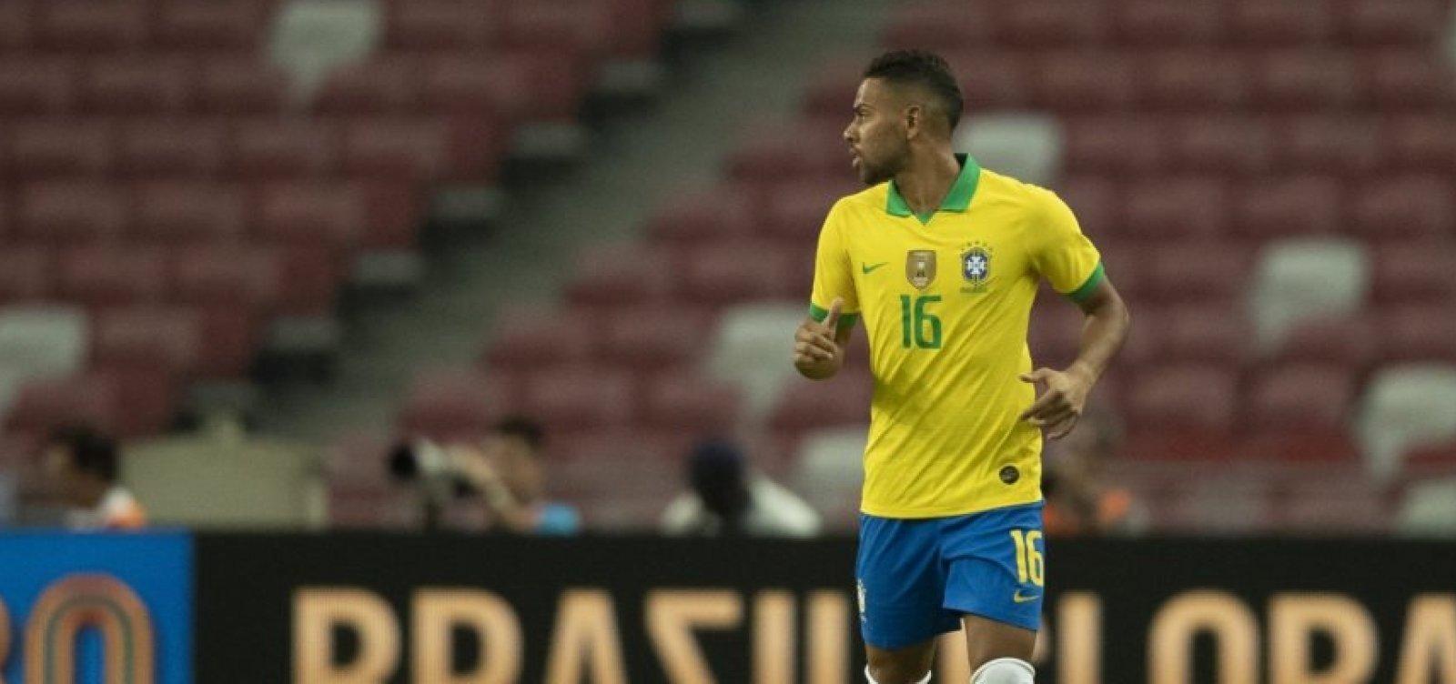 Alex Sandro sofre lesão e Renan Lodi será titular contra a Coreia do Sul