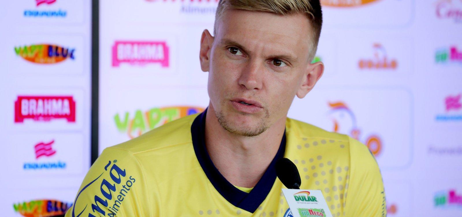 Douglas lamenta empate com o Palmeiras: 'Infelizmente não conseguimos o triunfo'