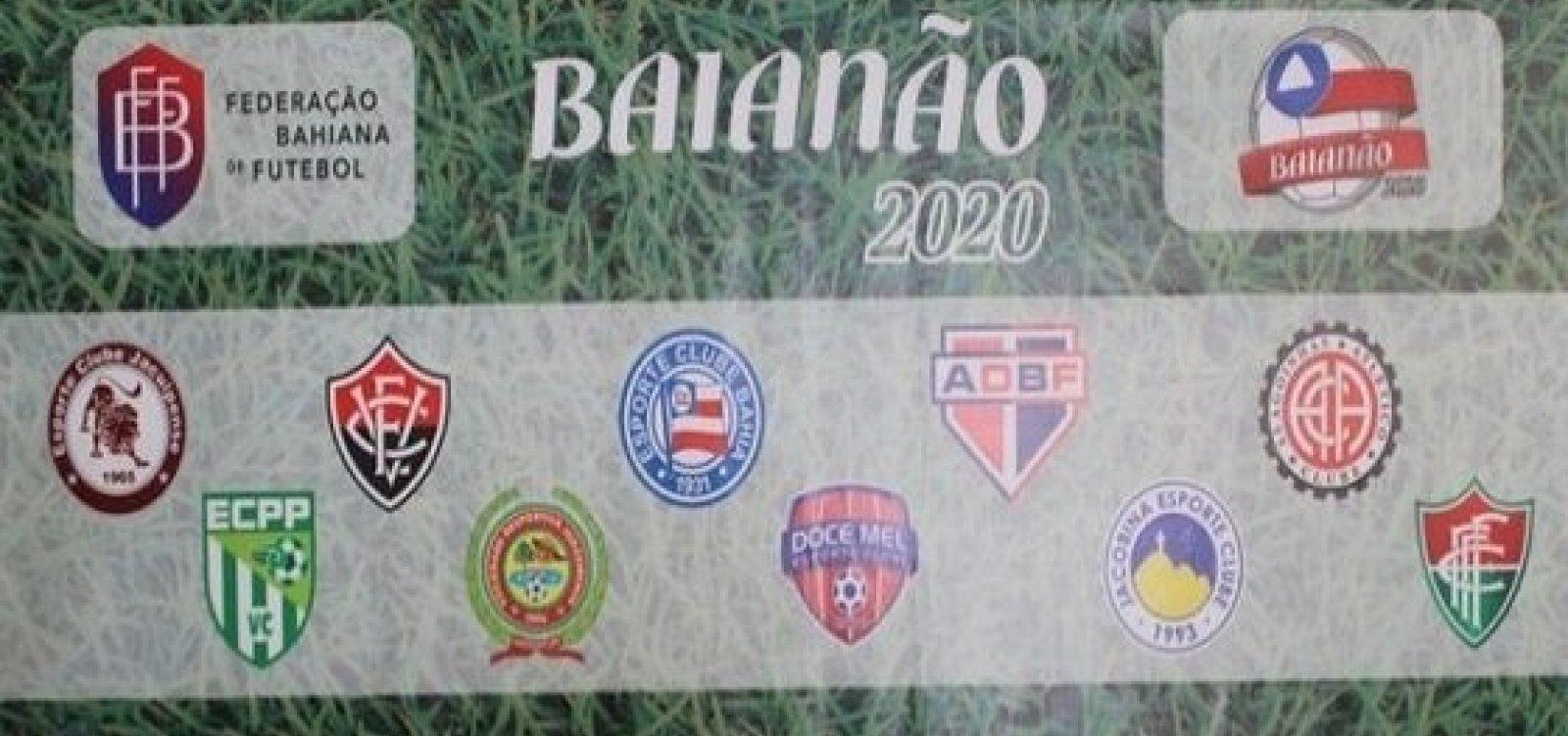 FBF divulga tabela do Baianão 2020; Ba-Vi será 1º de março