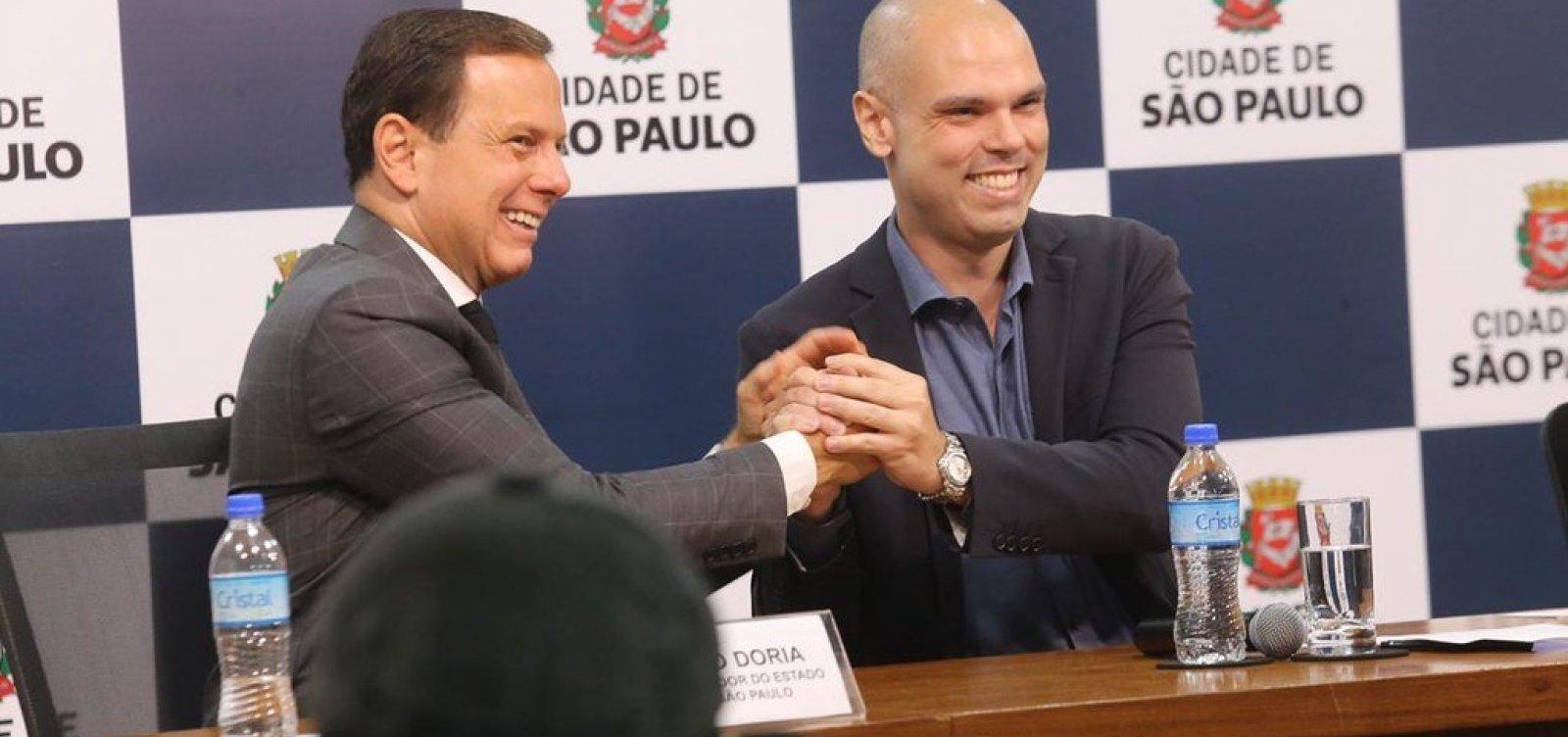 'Não tem plano B, tem o plano Bruno em 2020', afirma Doria sobre eleição municipal
