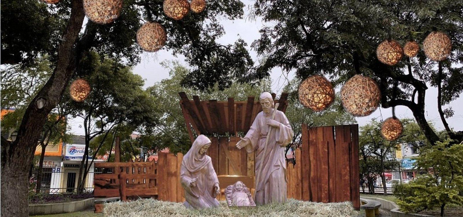 Feira de Santana: Prefeitura deve gastar mais de R$ 1mi em decoração natalina