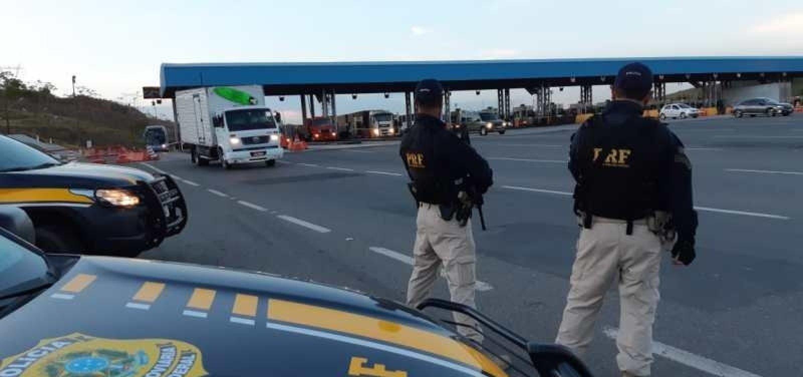 PRF multa 119 motoristas por dirigirem alcoolizados no feriadão da Proclamação da República