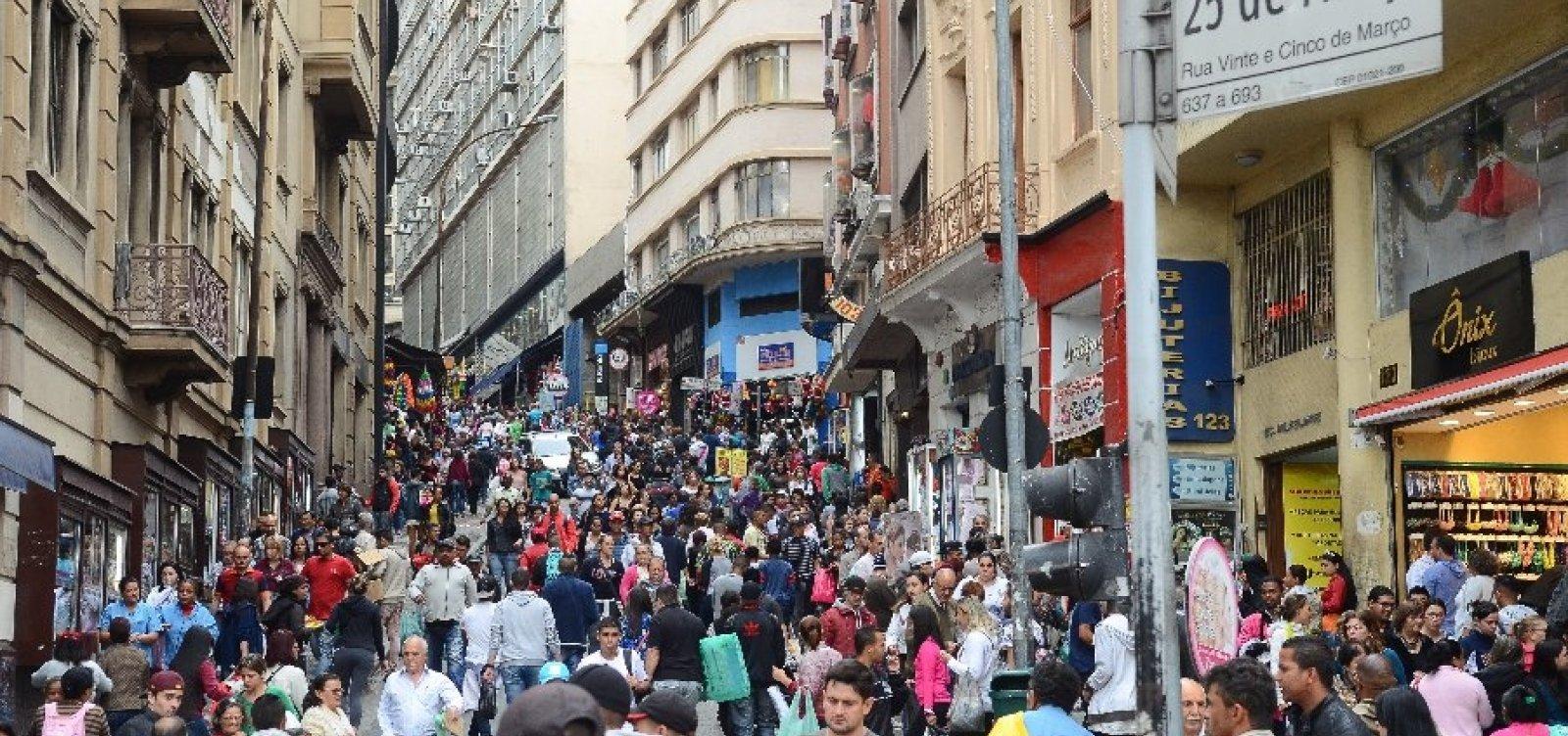 Taxa de desocupação cai 0,5% na Bahia, mas população fora da força de trabalho aumenta