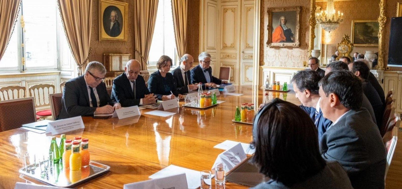 Consórcio do Nordeste firma parceria com a França nas áreas de meio ambiente e cidade sustentável