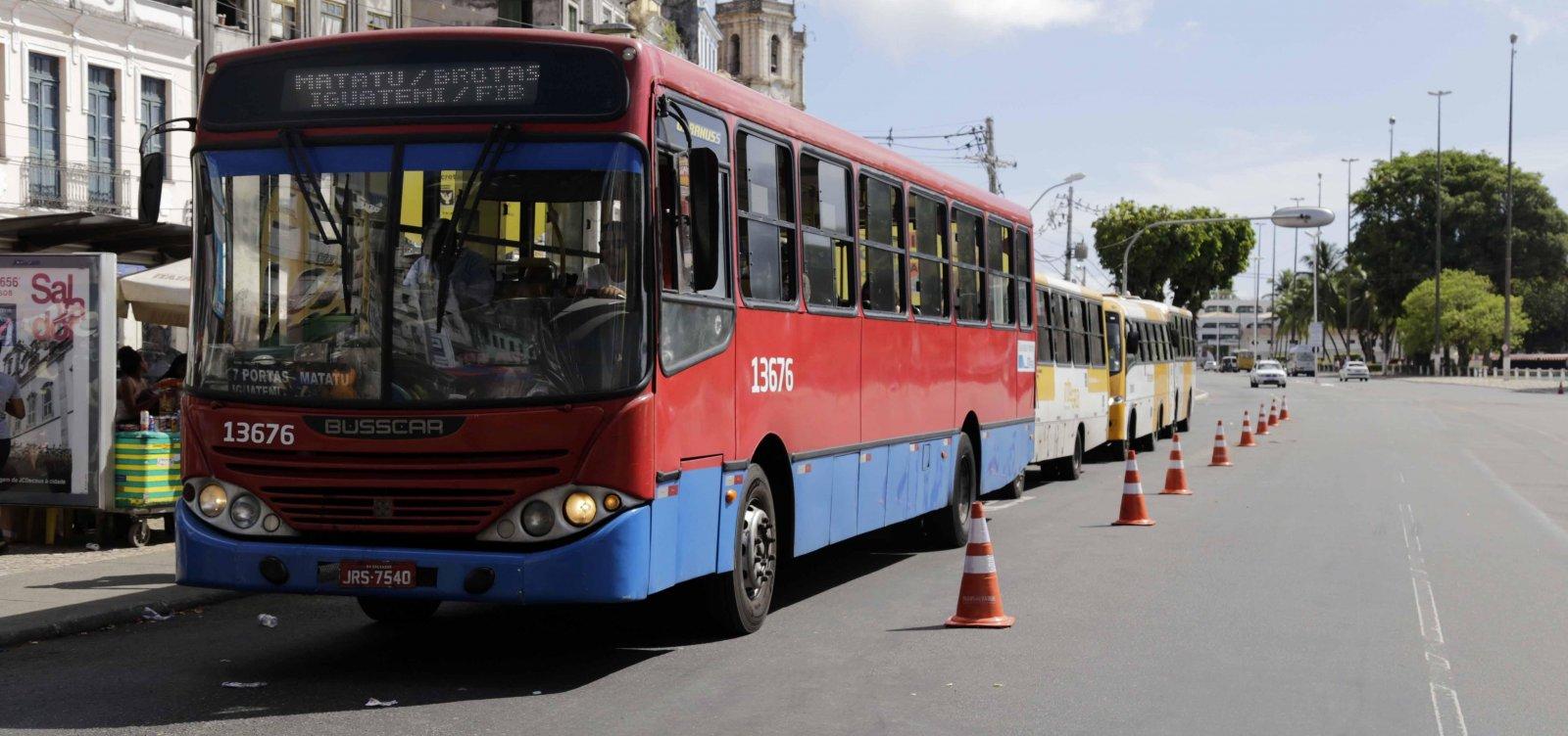 Linhas de ônibus que passam pelo Centro de Salvador terão horários estendidos