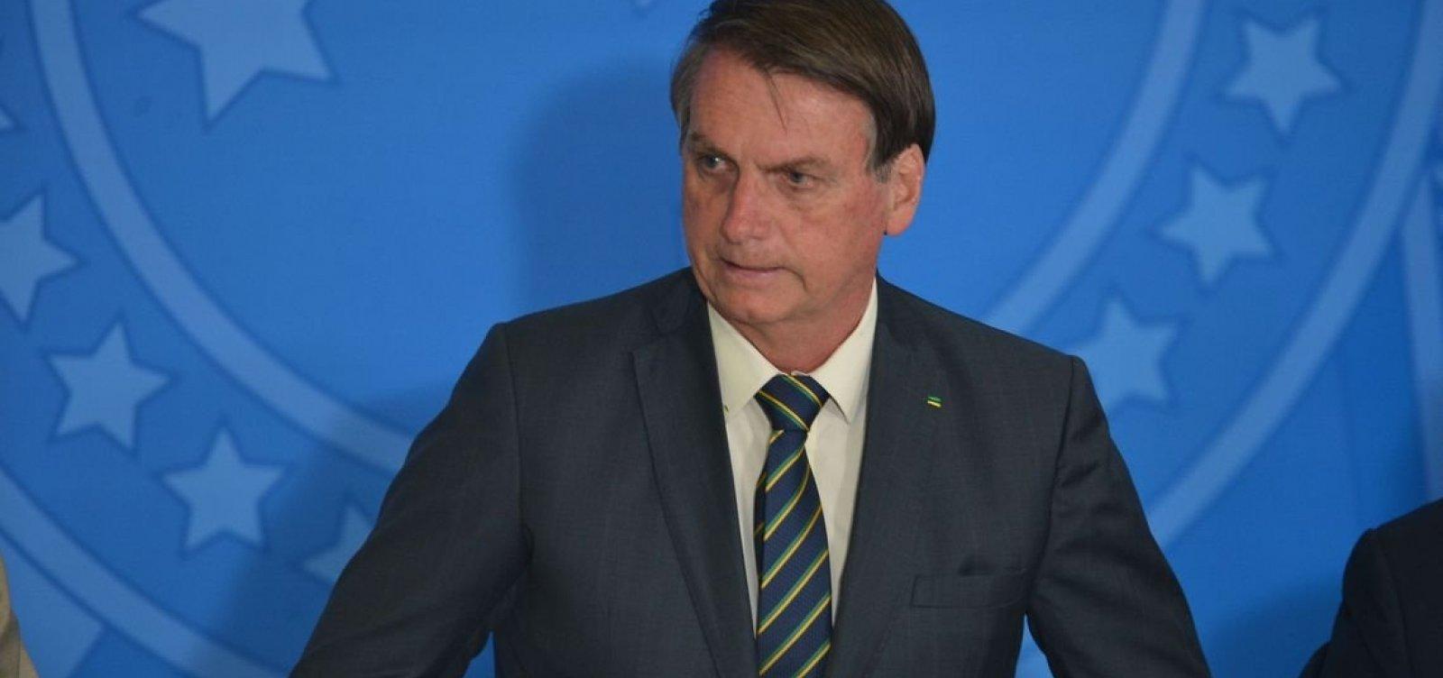 Bolsonaro diz que desmatamento é cultural no Brasil e não acabará