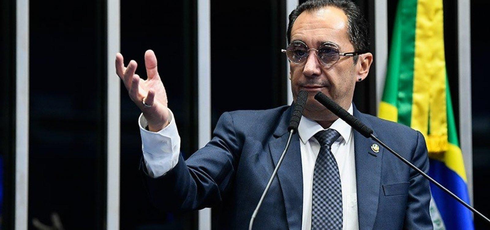 Senador Jorge Kajuru segue internado, mas tem quadro estável