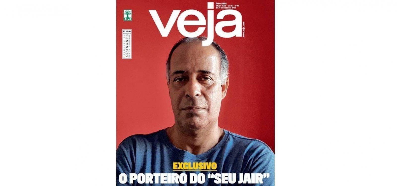 Porteiro do condomínio de Bolsonaro muda depoimento à PF