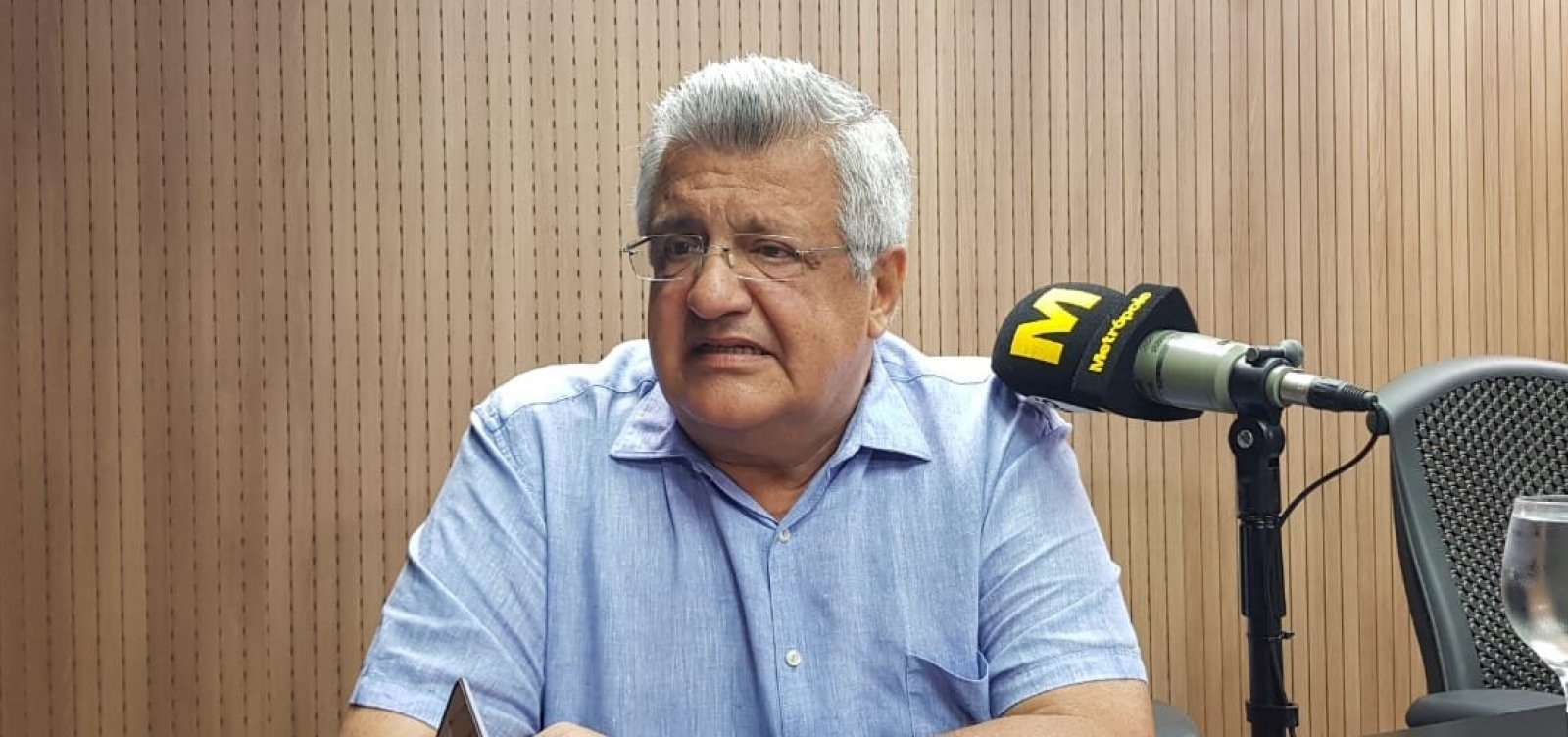 Bacelar lança pré-candidatura à prefeitura de Salvador e avalia Isidório na vice
