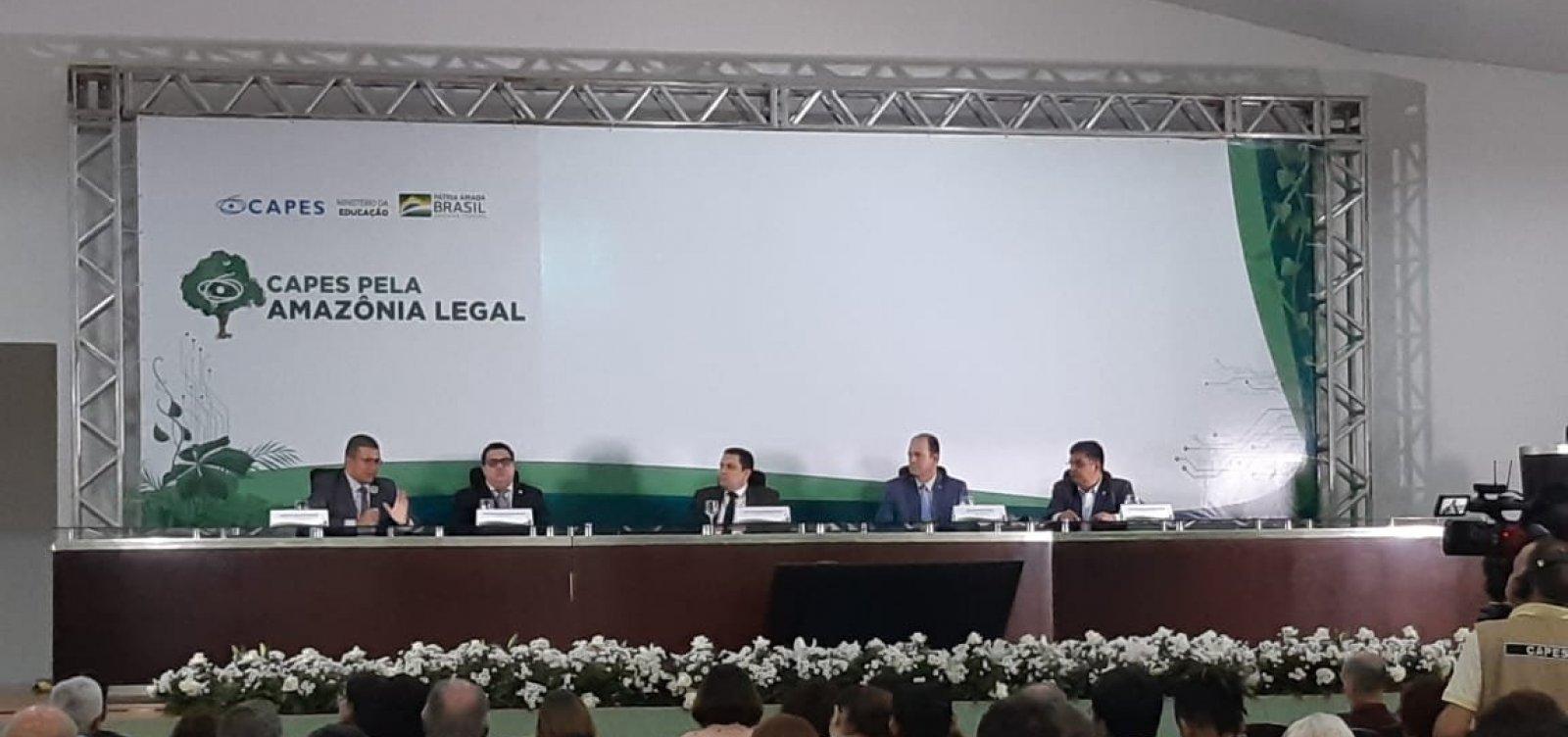 Capes assina acordo de R$ 80 milhões para pesquisas na Amazônia Legal