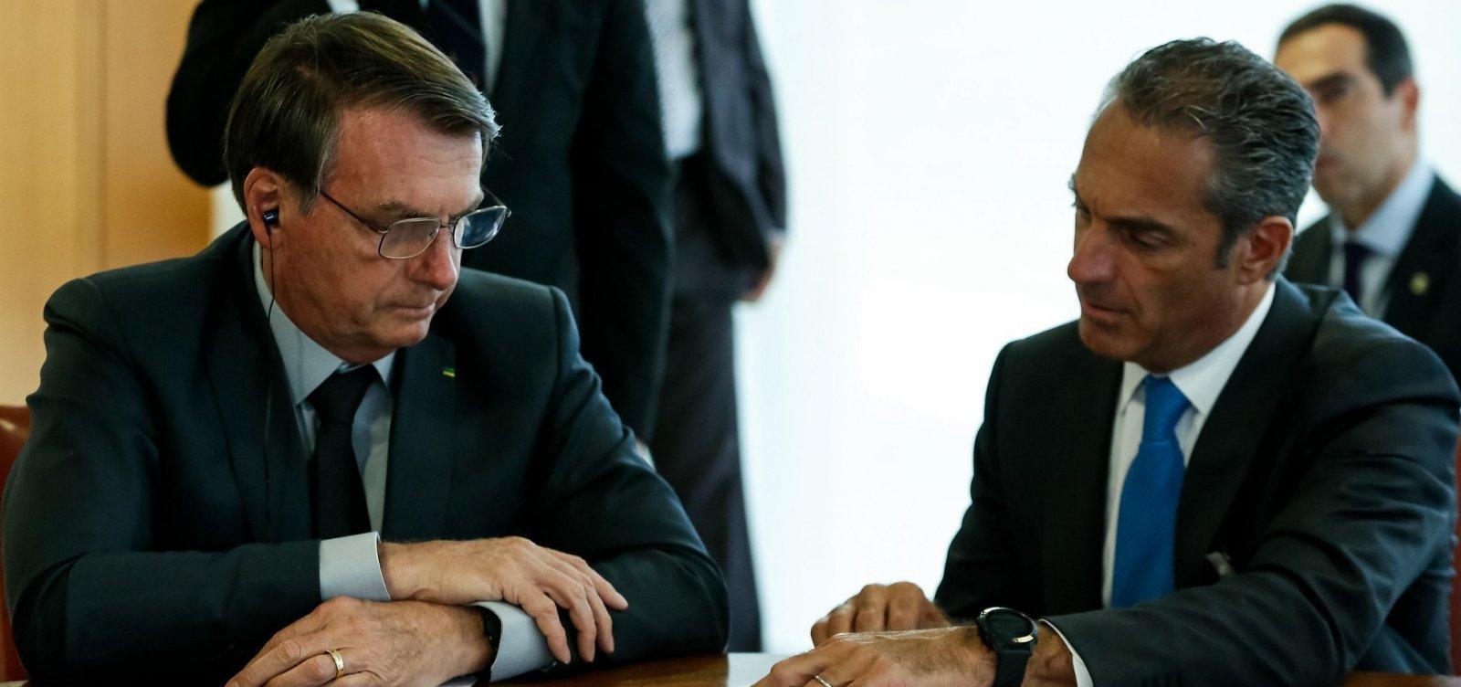 Após reunião com Bolsonaro, herdeiro de Carlos Slim anuncia intenção de investir R$ 30 bi no país