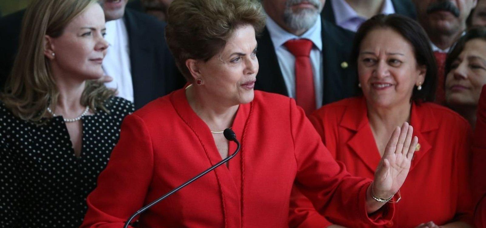 Ex-presidente Dilma ainda tenta anular processo de impeachment no STF