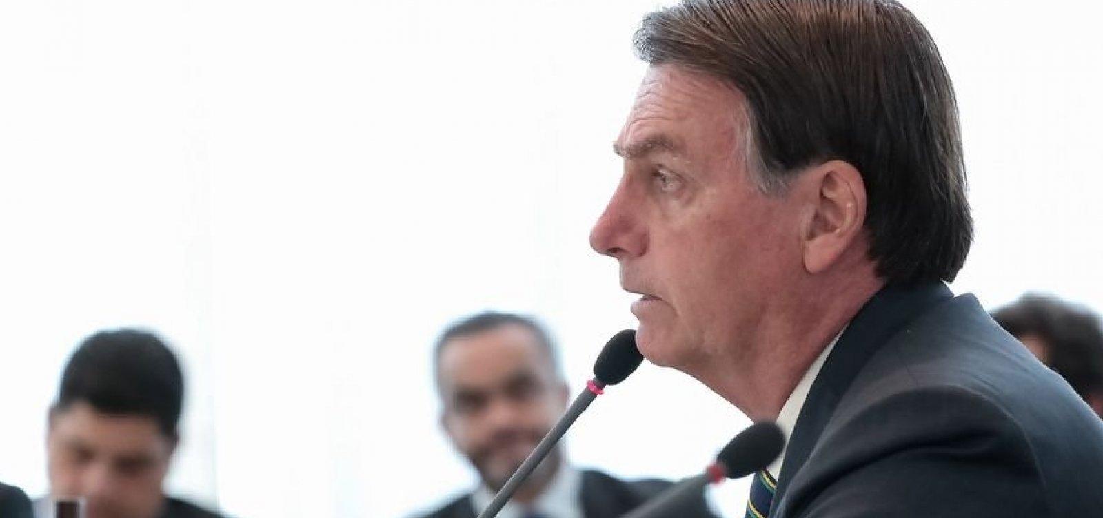 Bolsonaro envia ao Congresso projeto para isentar militar de pena em operações