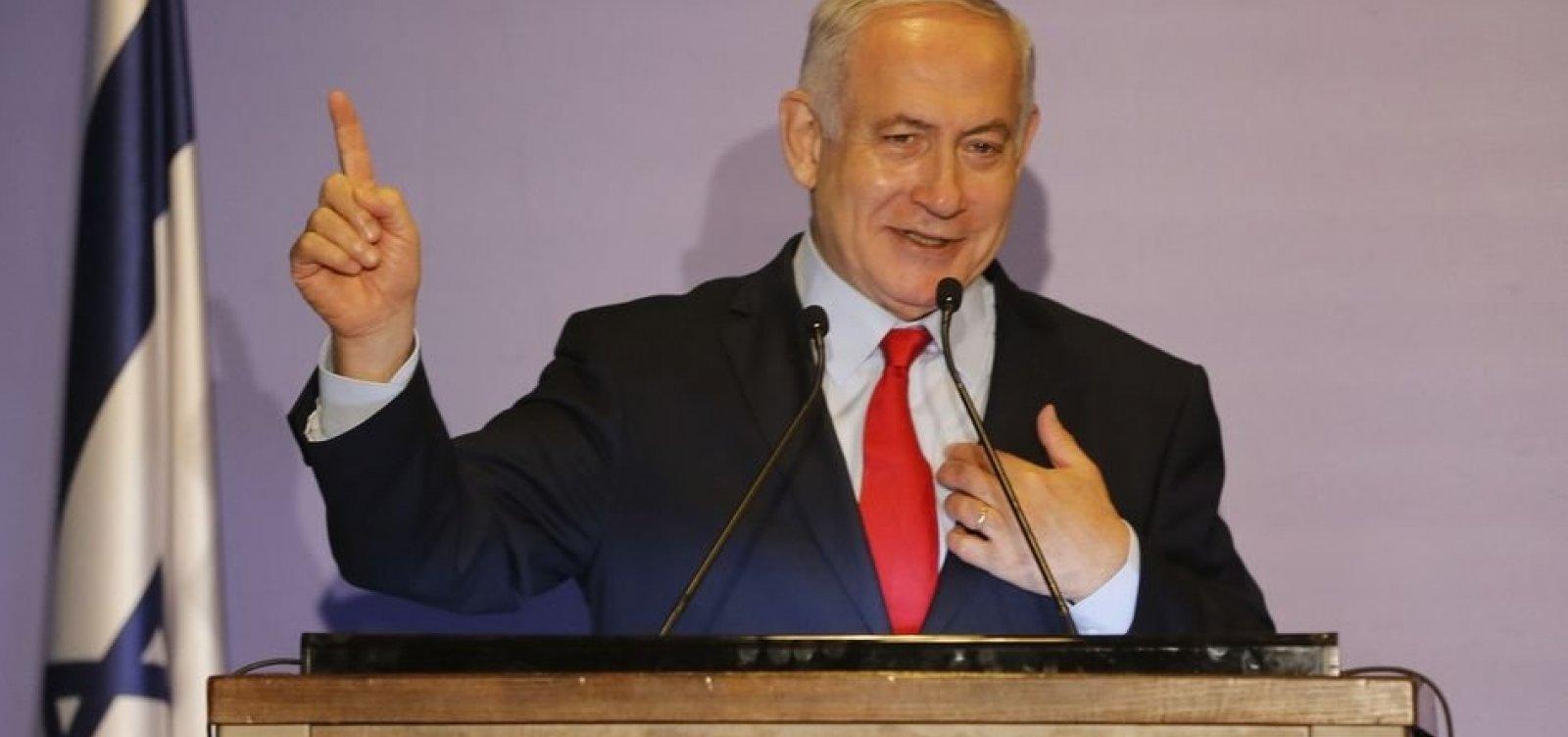 Netanyahu é indiciado por corrupção e fraude