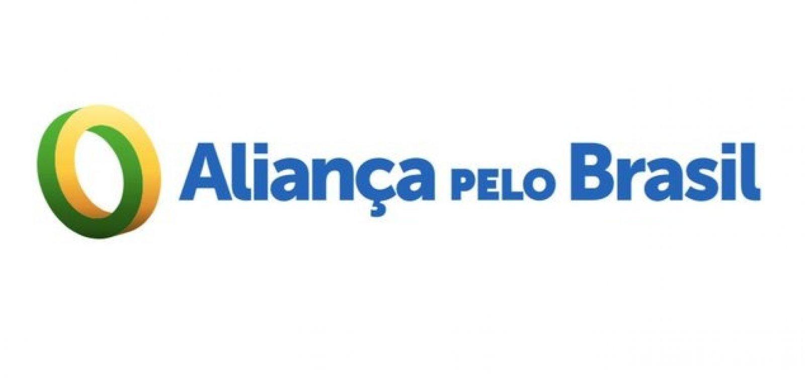 Partido Aliança pelo Brasil defende Deus, armas e oposição ao comunismo
