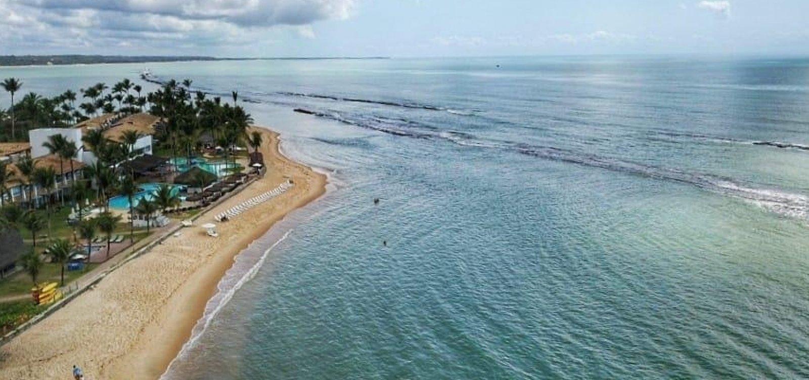 Seis cidades estão com fragmentos de óleo na Bahia