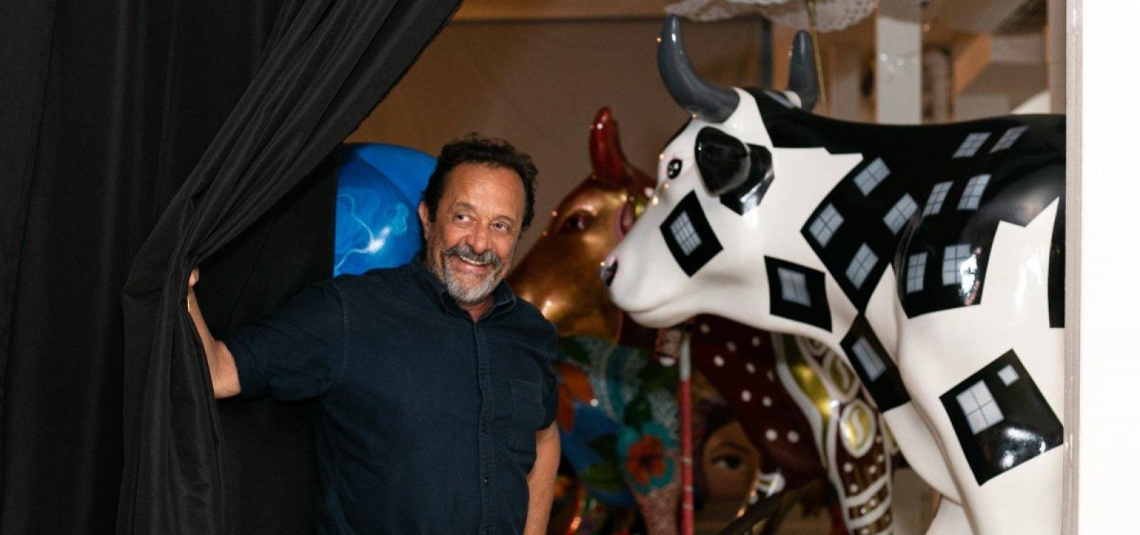 Leilão com vacas da CowParade arrecada R$ 165 mil na Bahia