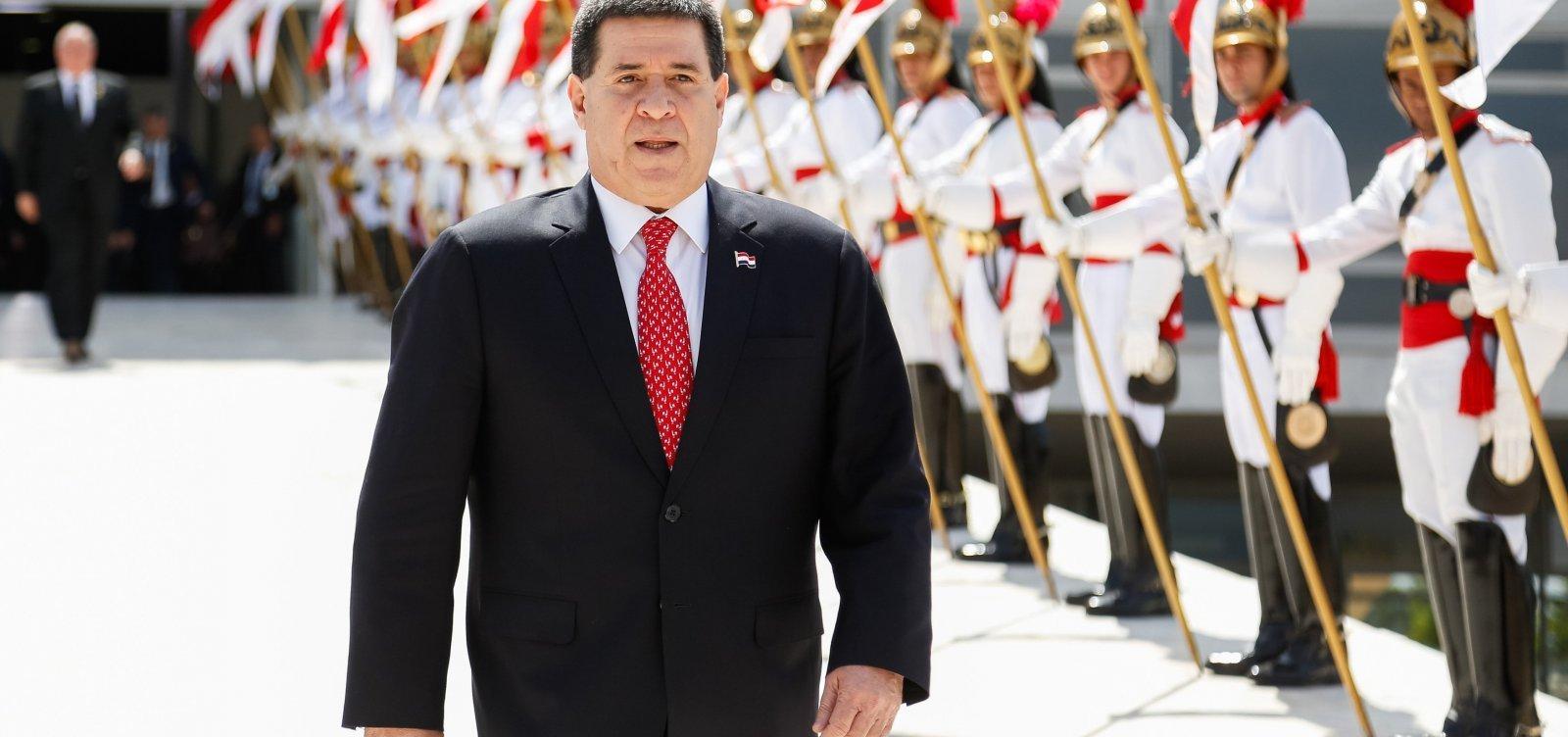 TRF-2 nega pedido de liberdadeaoex-presidente do Paraguai Horacio Cartes