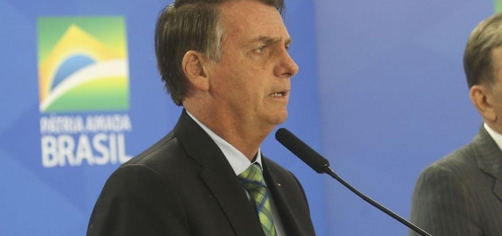 Brasil vive democracia, mas crises na América do Sul preocupam, diz Bolsonaro
