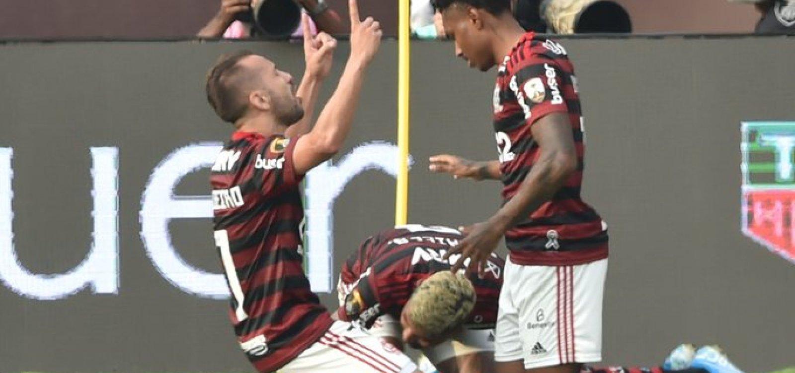 Flamengo vence o River Plate de virada e conquista a Libertadores