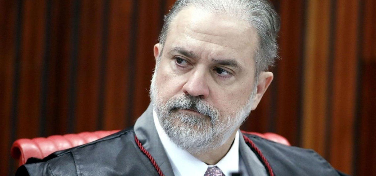 Augusto Aras denunciou presidente do TJ-BA e major por estelionato e extorsão
