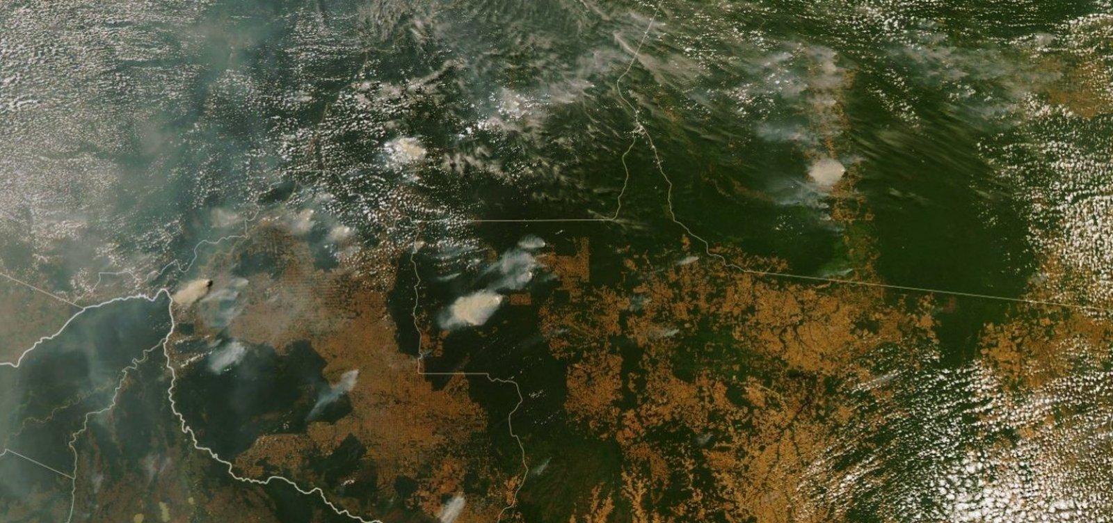 Estudo da Nasa vê Amazônia mais seca e vulnerável