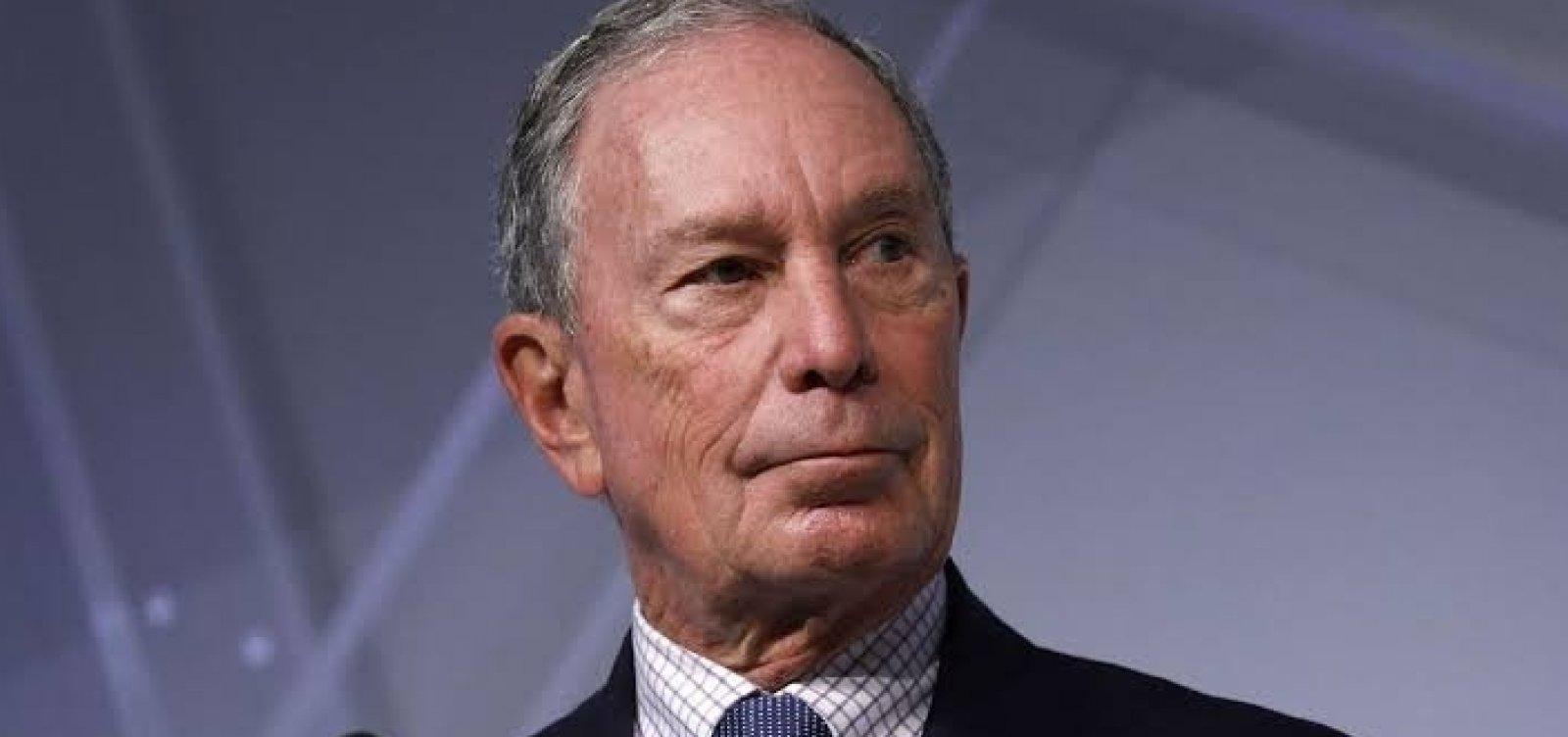 Ex prefeito de NY, Michael Bloomberg anuncia pré-candidatura à presidência dos EUA