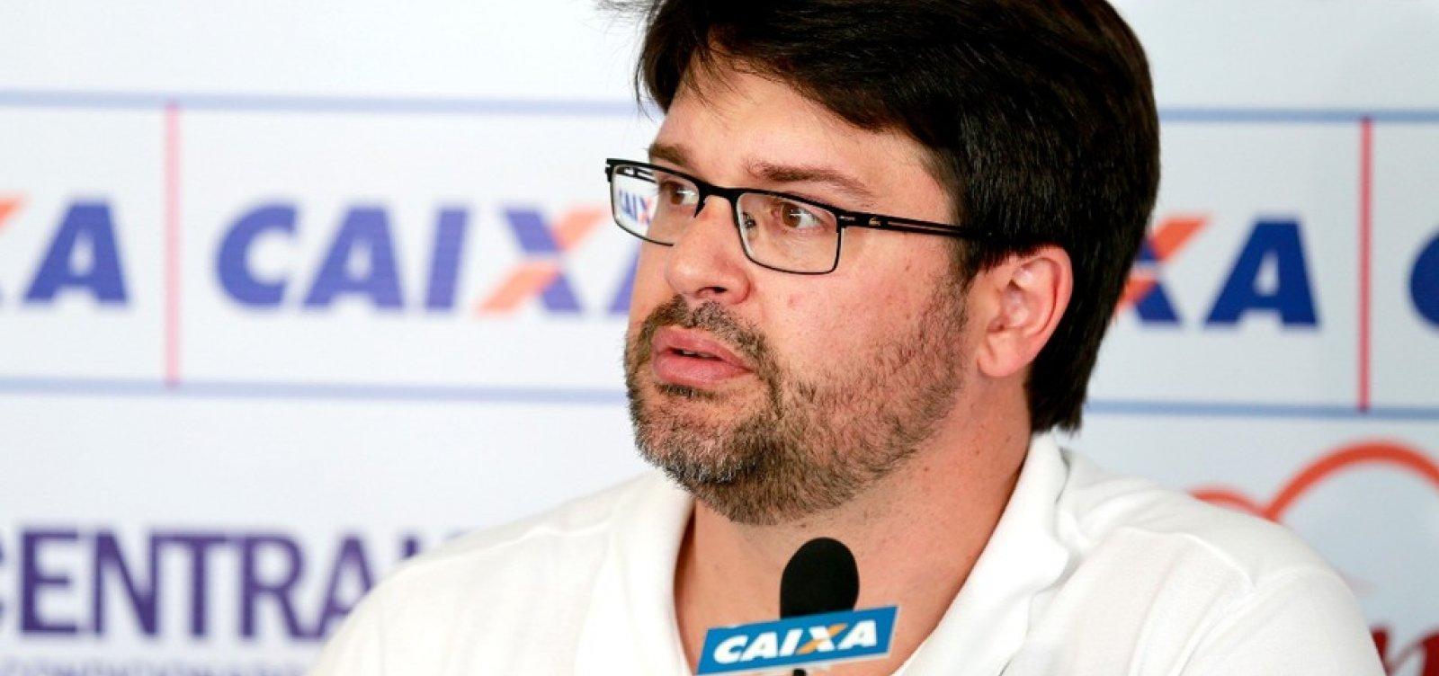 O sonho acabou? Presidente do Bahia diz que time não briga mais pela vaga na Libertadores