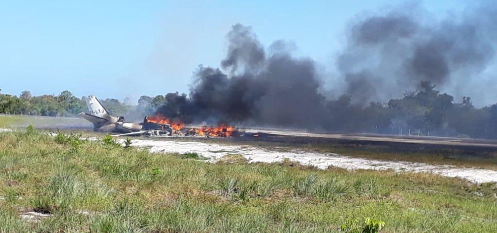 Morre em hospital quarta vítima de acidente com aeronave em Maraú