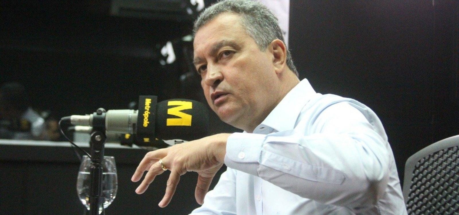 Rui diz que obras do VLT e do metrô devem gerar 10 mil empregos