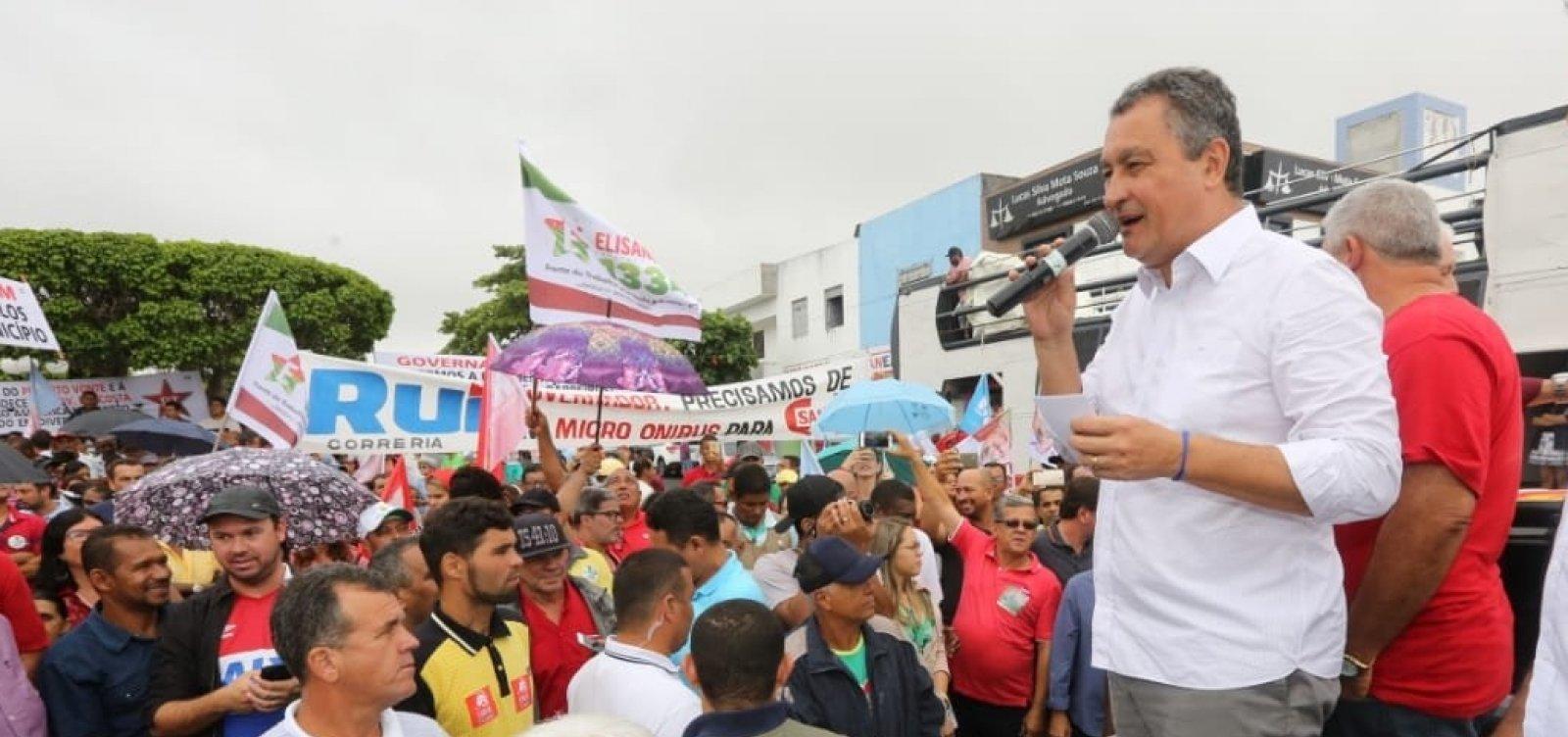 Governador promete se envolver em eleições de 2020 e critica governo Bolsonaro