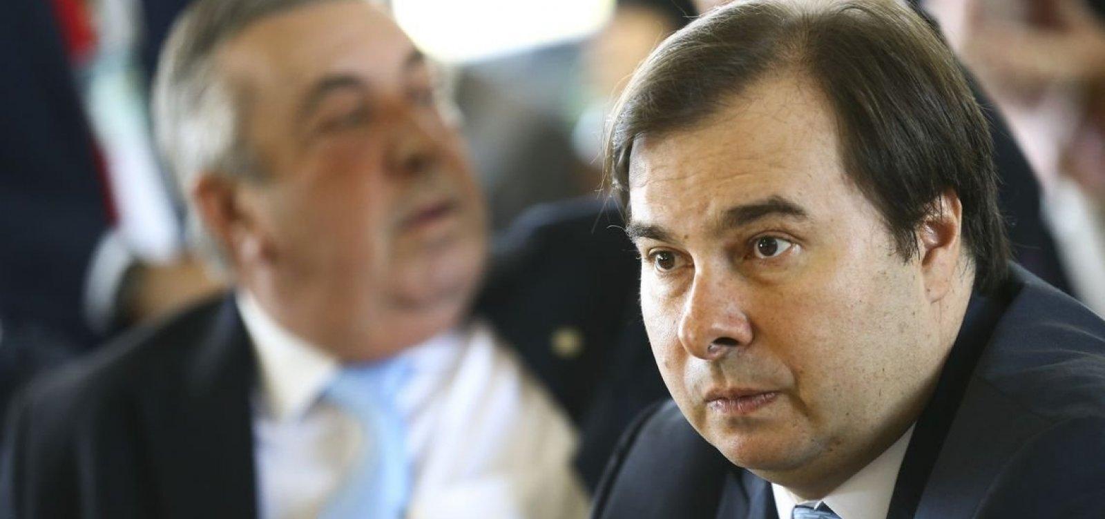 Rodrigo Maia diz que Câmara já definiu qual proposta para prisão em 2ª instância será discutida
