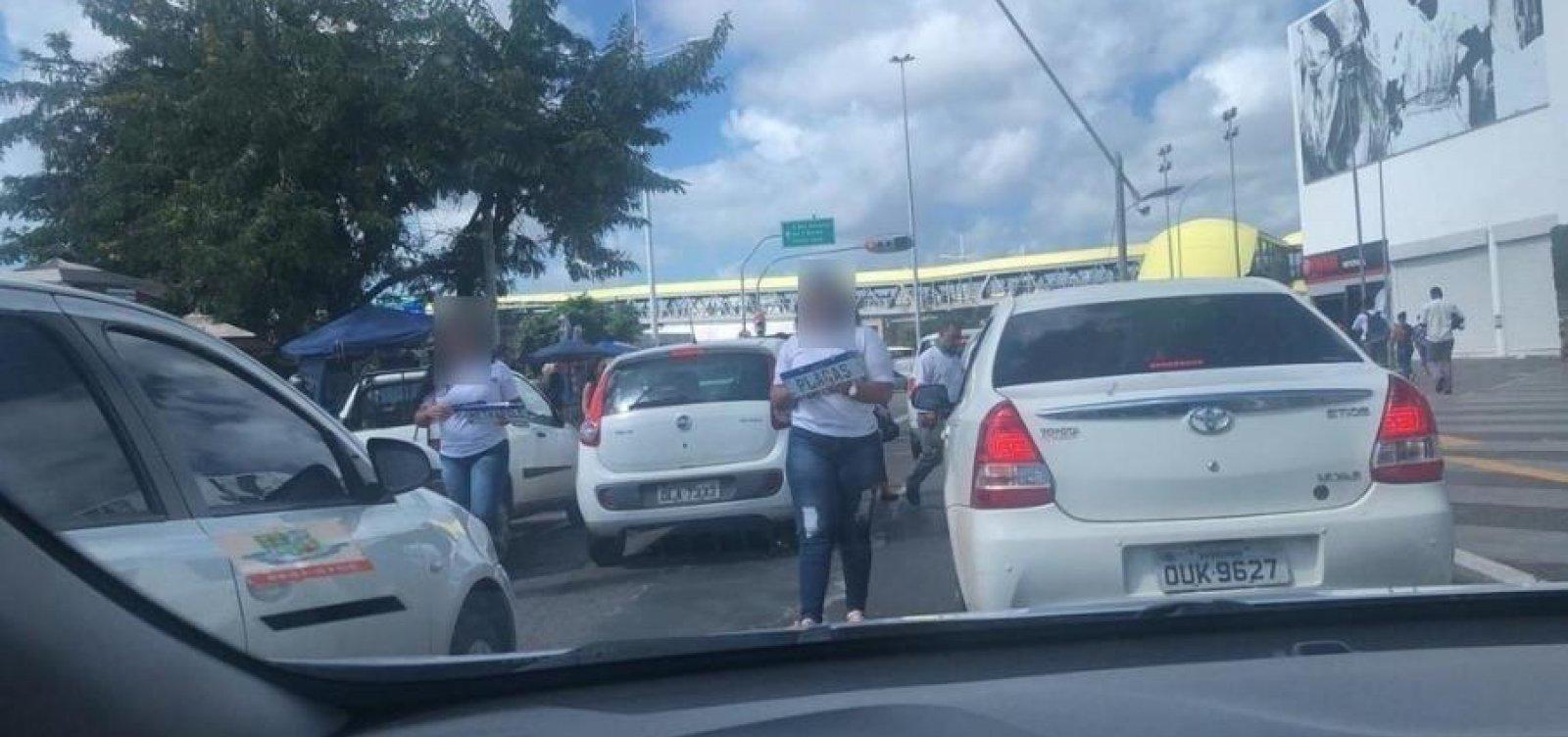Placa Mercosul: segurança falha gera clonagens e venda no meio da rua em Salvador