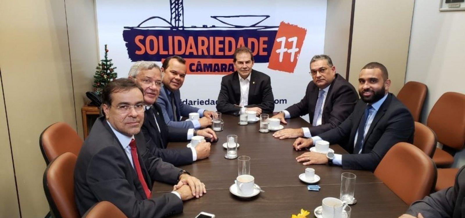 Bloco partidário liderado por Geraldo Júnior faz articulações de olho em 2020 em Brasília