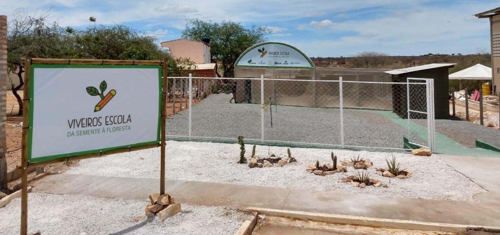 Ourolândia: Viveiro-escola é inaugurado após acordo com MP-BA