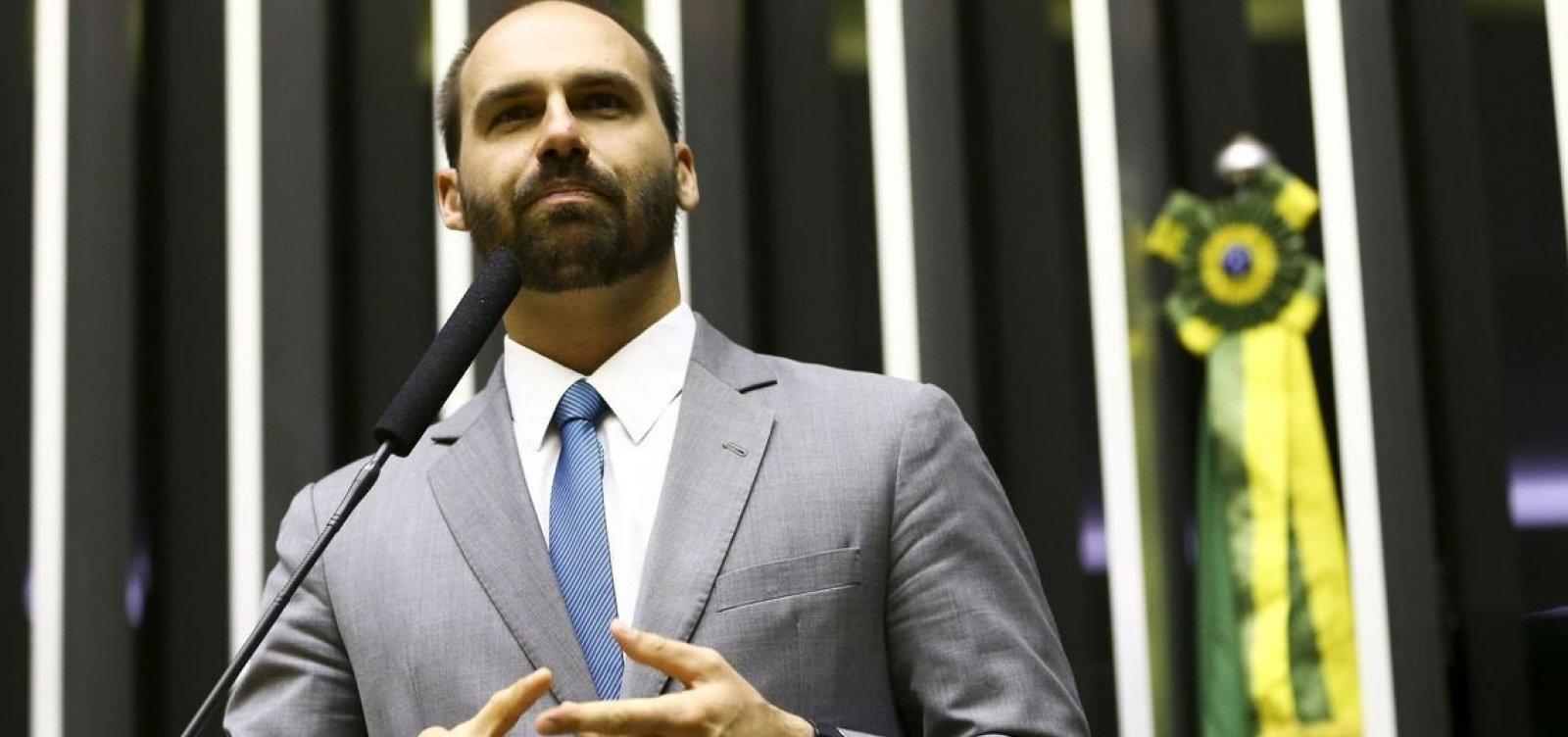 Conselho de Ética abre processo contra Eduardo Bolsonaro por fala sobre AI-5