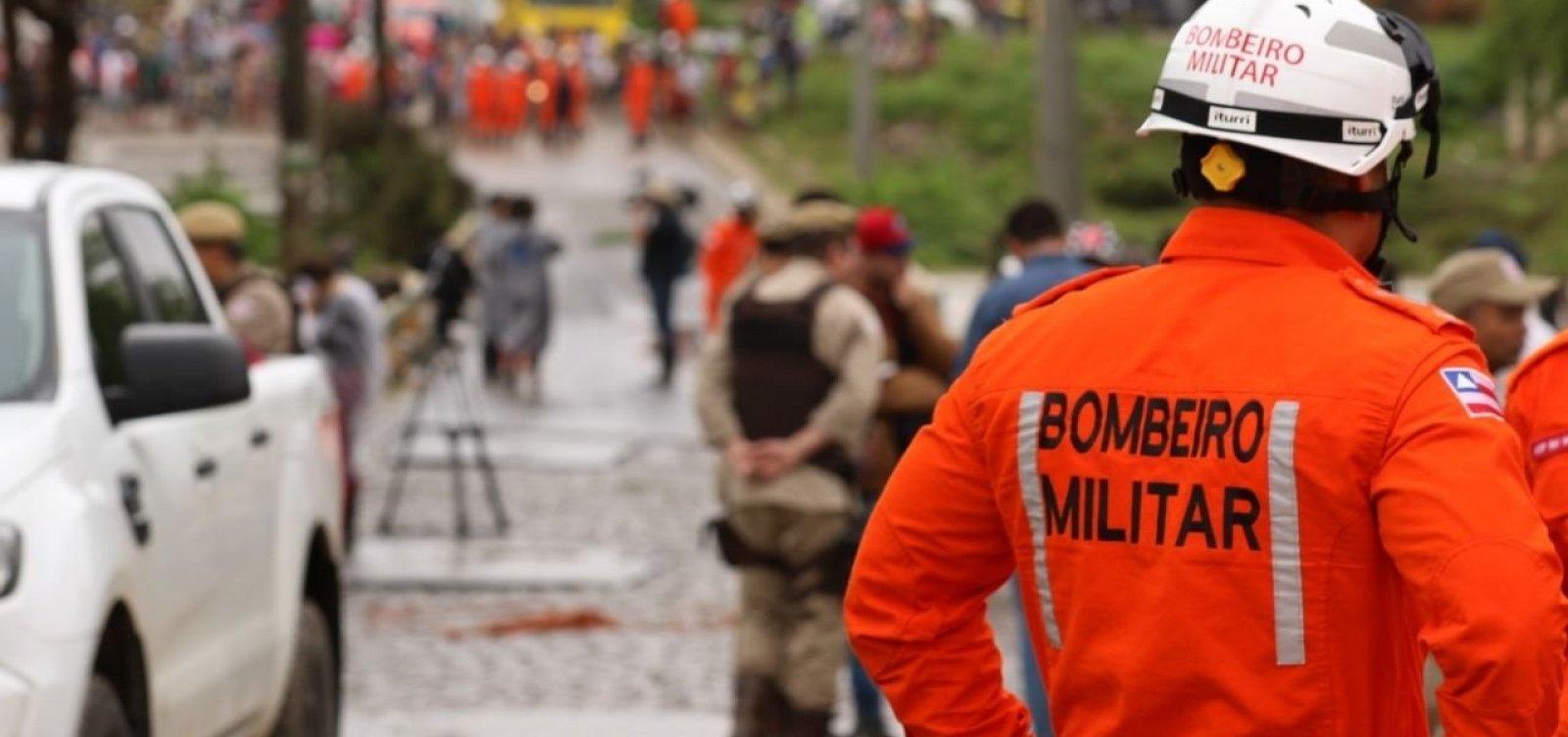 Corpo de Bombeiros arrecada donativos para vítimas das chuvas na Bahia