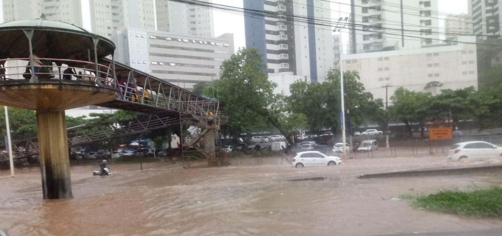 Alagamento na ACM: 'Essa cena vai acontecer pela última vez', promete prefeito de Salvador