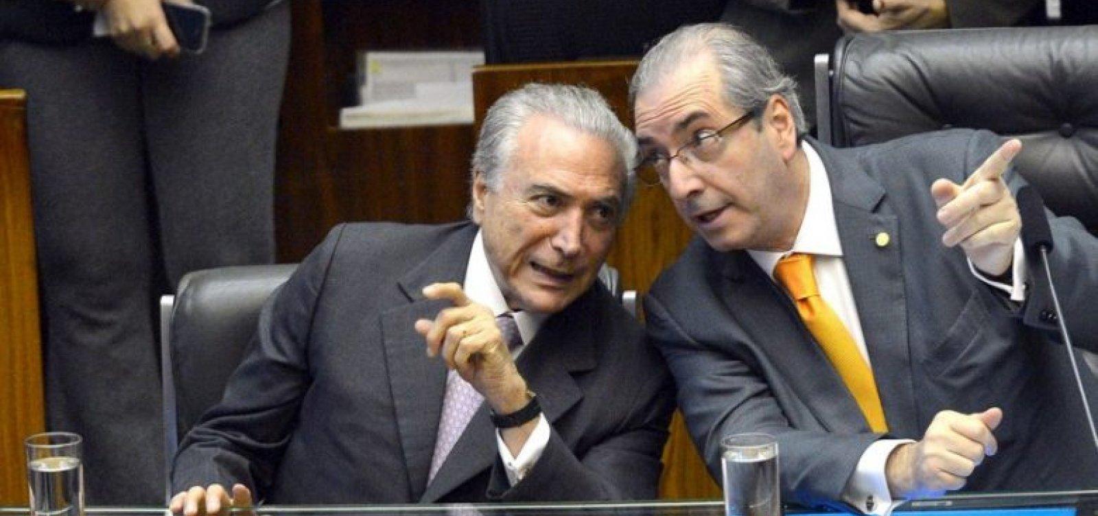 Temer diz que Cunha autorizou impeachment porque PT não o apoiouno Conselho de Ética