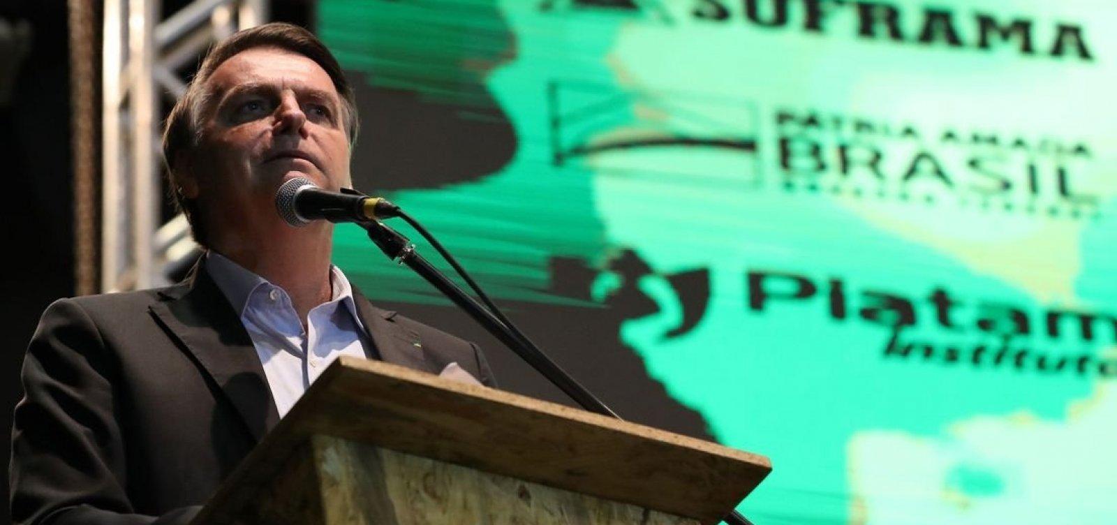 Brasil vai manter relação pragmática com Argentina, afirma Bolsonaro