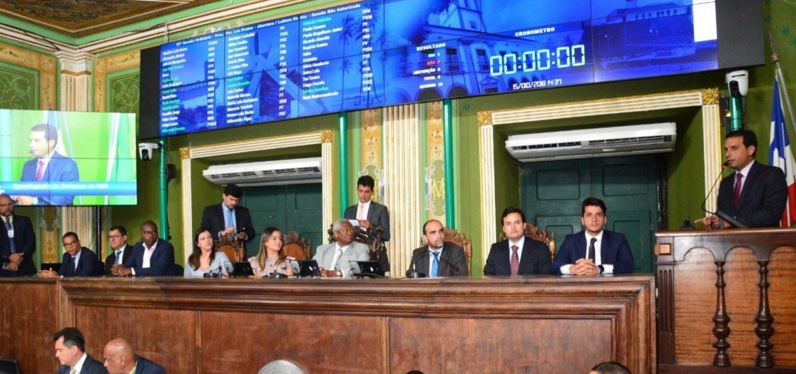 TCM aprova contas da Câmara de Salvador e de mais 17 municípios