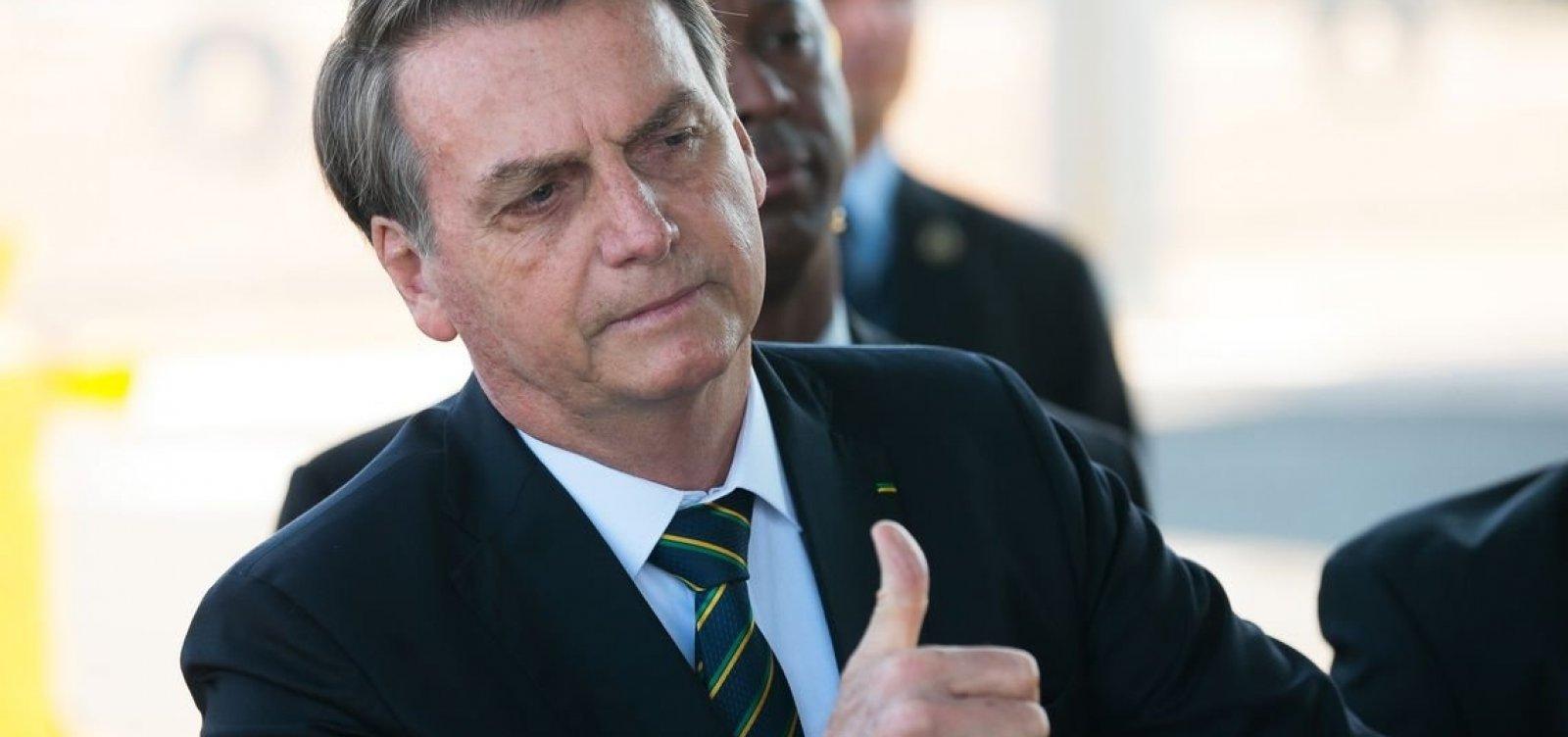 'Tenho dificuldades seríssimas em muitas áreas', admite Bolsonaro