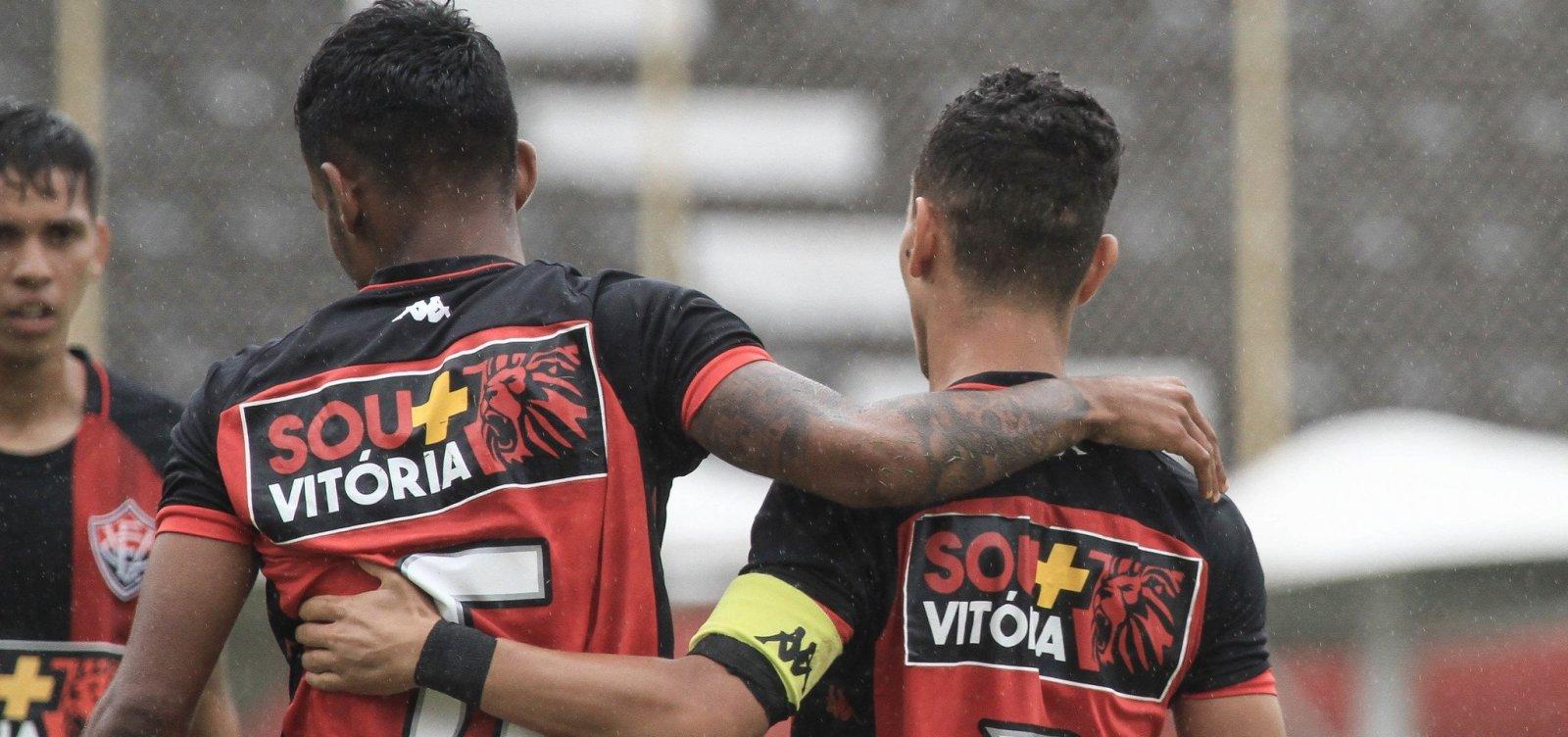 Vitória enfrenta o Sport amanhã na final da Copa do Nordeste Sub-20
