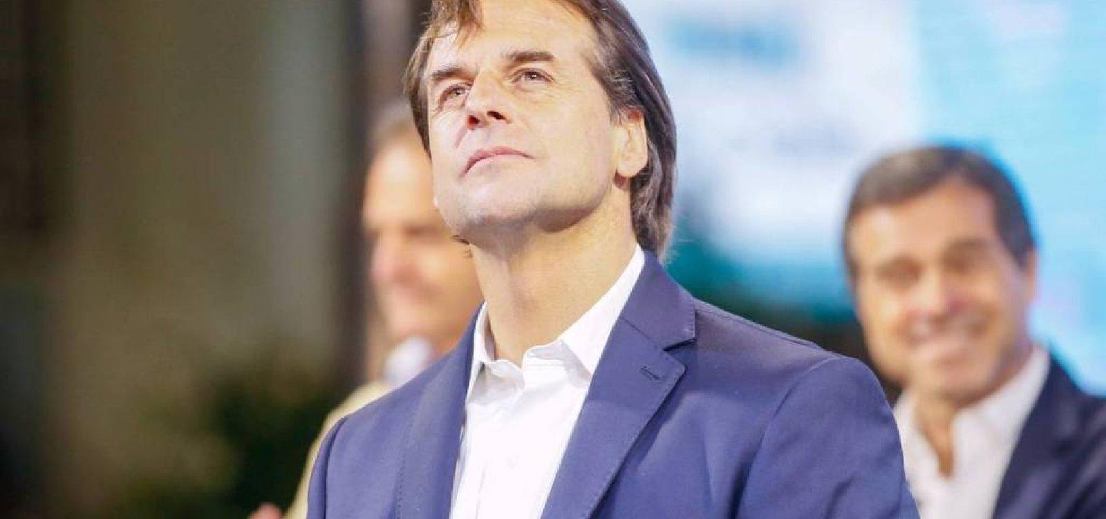 Lacalle Pou, representante da direita, é eleito novo presidente do Uruguai