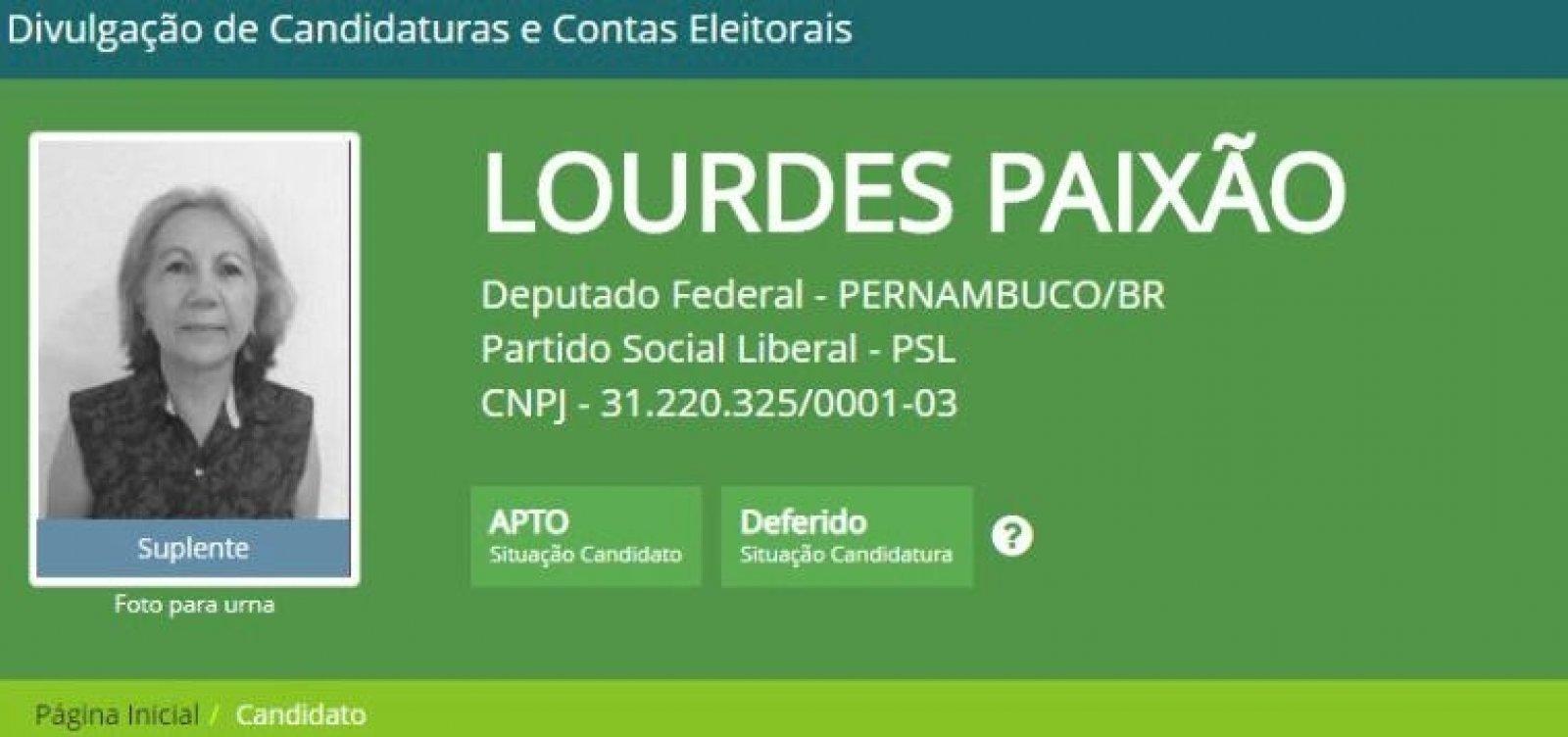 Suposta candidata laranja do PSL é condenada a devolver R$ 380 mil ao fundo partidário