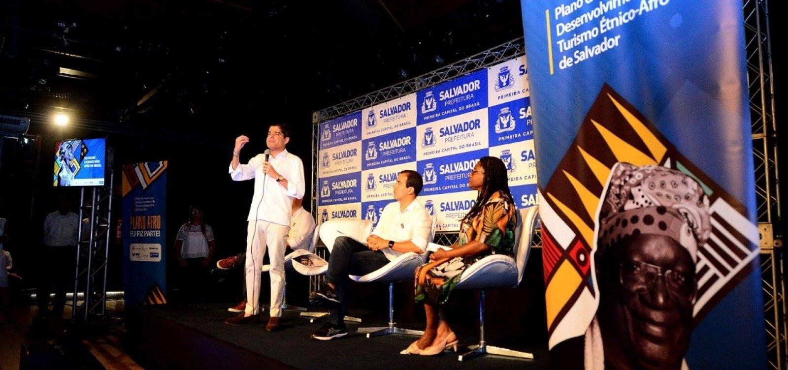 Com investimento de R$ 13,5 mi, ACM Neto lança Plano de Ação do Turismo Étnico-Afro